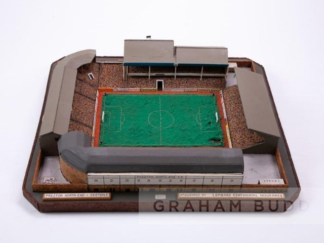 The model of Deepdale as it was in 1986 (Image: Graham Budd Auctions).