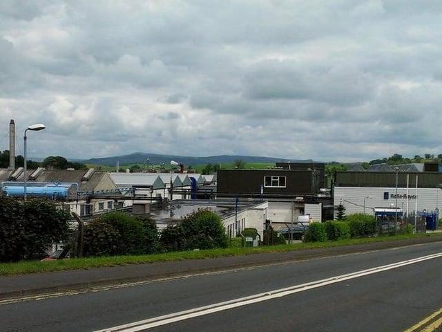 The Rolls-Royce site in Barnoldswick