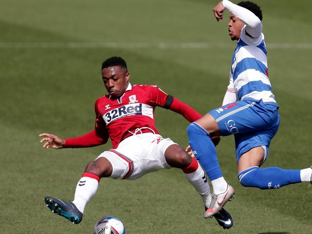 Former Preston right-back Darnell Fisher in action for Middlesbrough