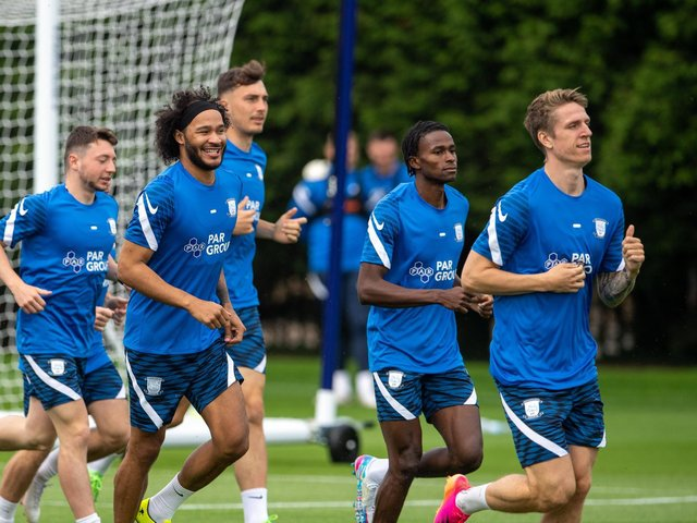 Izzy Brown and Matthew Olosunde will feature for Preston North End at Bamber Bridge on Saturday