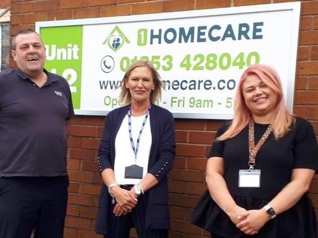 Credit union for Preston and Blackpool Clever Money has teamed up with 1 Homecare as its latest payroll partner.  CLEVR Money manager Anthony Brookes (left) with Lisa Barnett and Samirah Morcos of 1 Homecare.