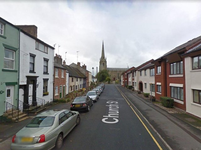Four fire engines from Blackpool, South Shore and Penwortham rushed to the scene in Church Street. (Credit: Google)