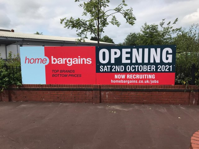 The new store will open at the site of theformer Aldi in Towngate on Saturday, October 2