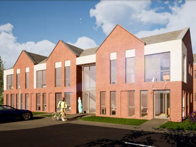 How the new apartment block will look (Image: David Cox Architects).