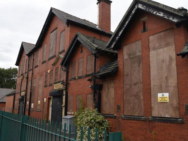 The old school building is set to be demolished from September
