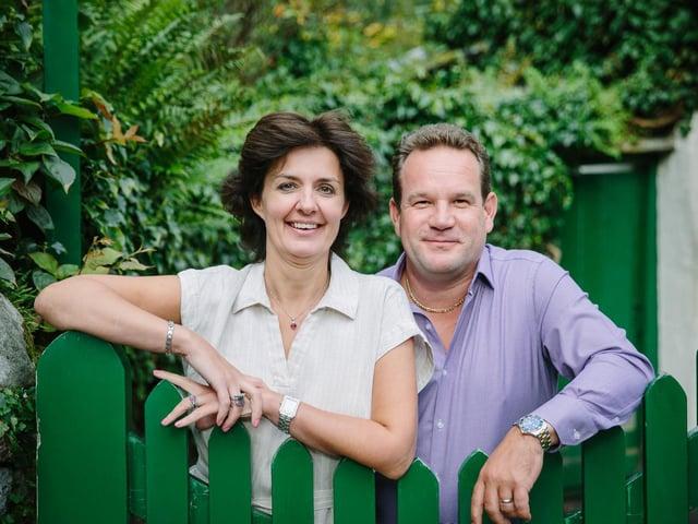 Joanne and Andrew Hunter of Grasmere Gingerbread Picture: Steven Barber