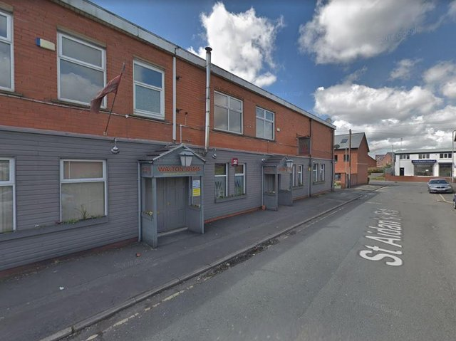 The Walton Arms in Bamber Bridge has had to close after a positive Covid test. (Credit: Google)
