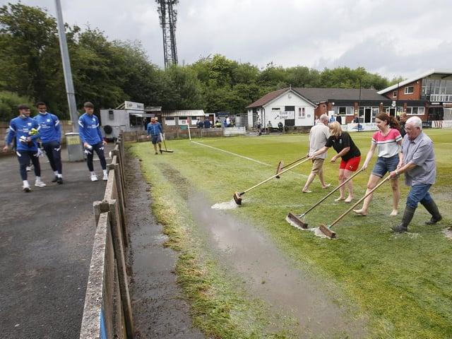 A wet start to Preston North End's pre-season campaign