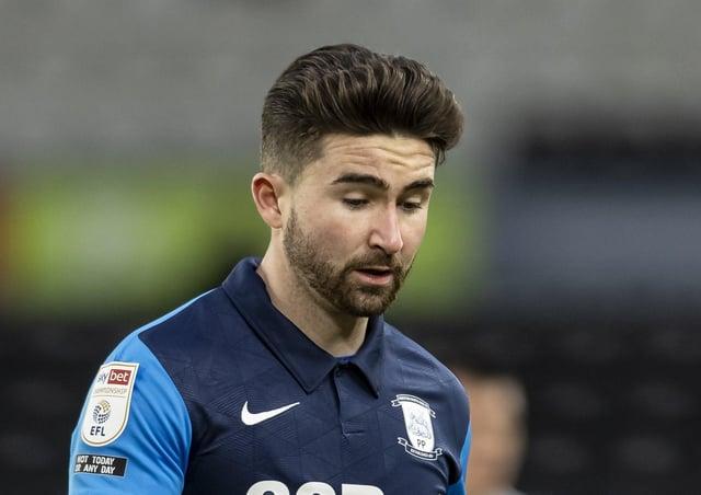 Sean Maguire scored twice for Preston against Bamber Bridge