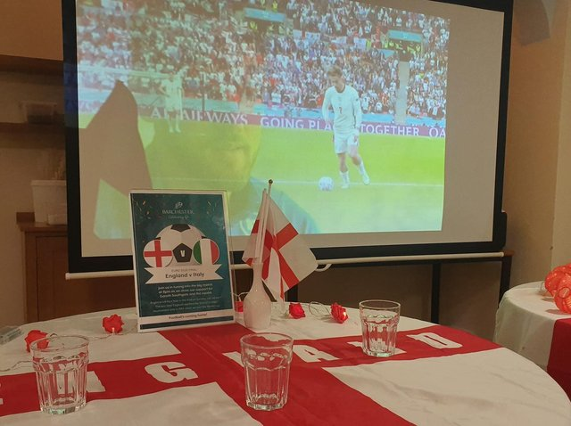 Residents and staff at Laurel Bank care home have been enjoying all the action at the Euros over the past four weeks.