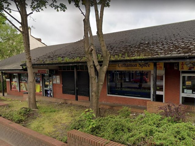 The Cinnamon Spice takeaway in Water Lane, Preston was raided by Immigration Enforcment officers on Friday evening (July 9). Pic: Google