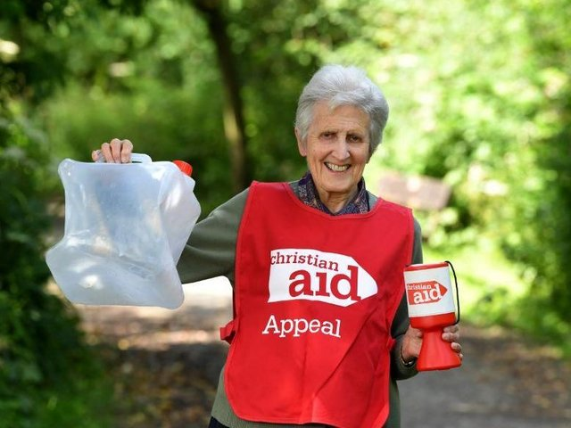 77-year-old Cath is walking 105 miles over the next month