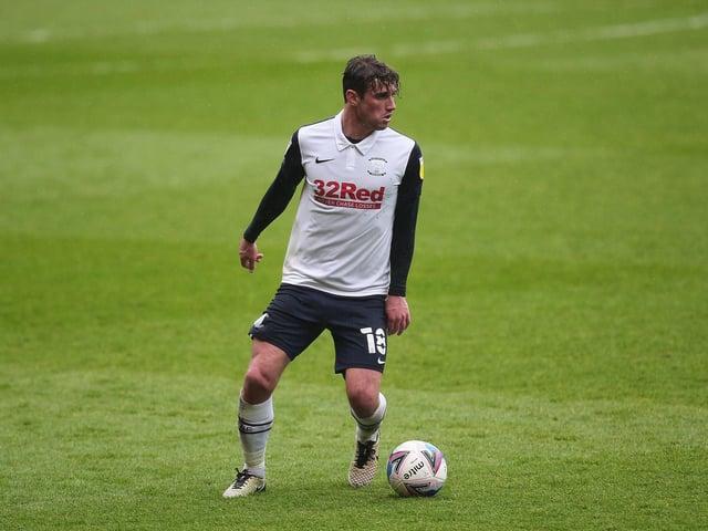Preston North End midfielder Ryan Ledson.