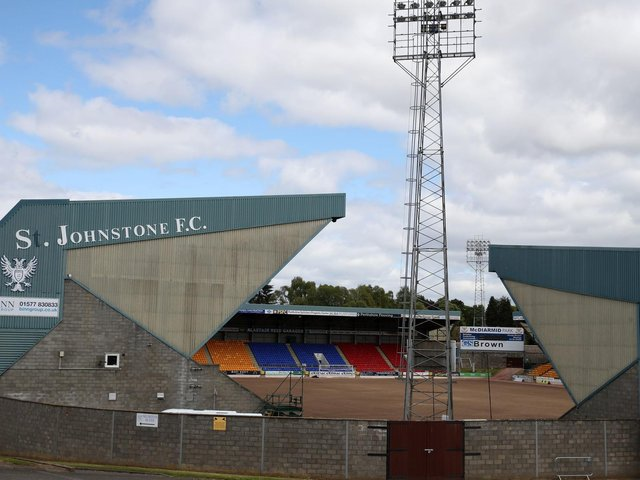 St Johnstone's McDiarmid Park ground
