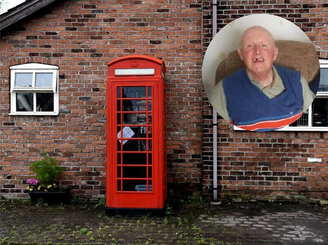 Eric Dewhurst used the phone box opposite his home on Pompian Brow in Bretherton whenever he wanted to call someone