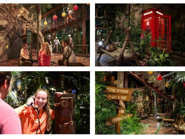 First look inside I'm a Celebrity... Get Me Out Of Here! attraction