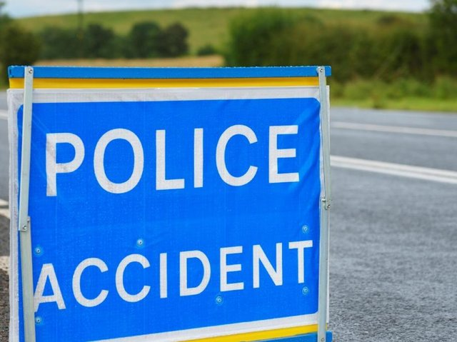 Police closed two lanes on the M61 northbound carriageway between junctions 8 (Chorley, A6) and 9 (Clayton Brook, M65) after a crash at around 10am this morning (Thursday, July 15)