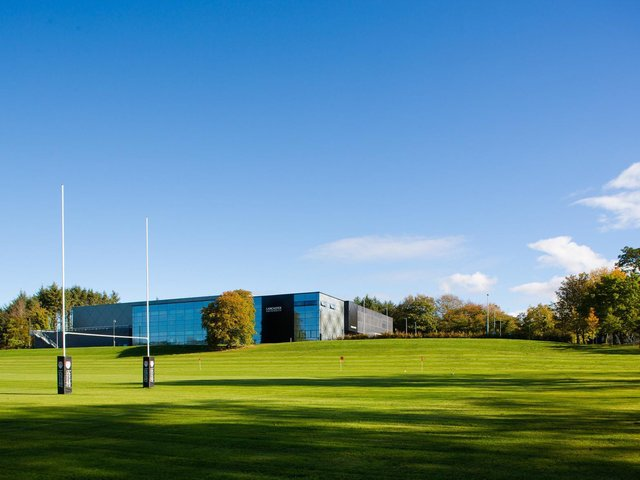 Lancaster University Sports Centre.