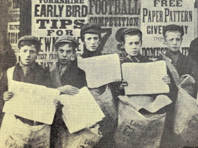 Newspaper boys were becoming a familiar sight in the late 19th century