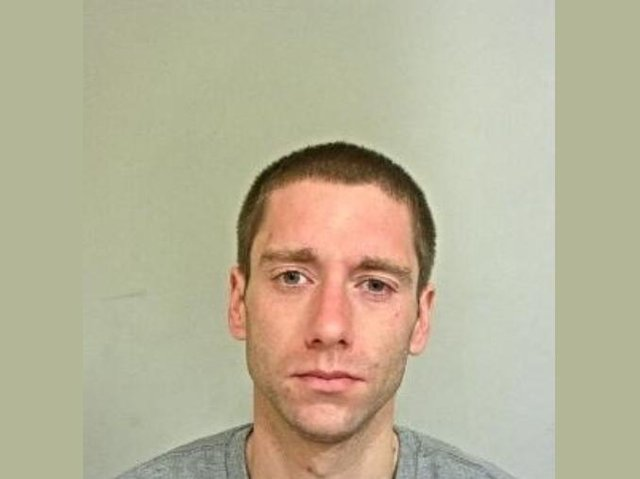 Nicholas Powis, 31, of Hawkins Close, Preston, was sentenced at Preston Magistrates' Court yesterday (Thursday, July 15) after pleading guilty to committing two burglaries in the city in June. Pic: Lancashire Police