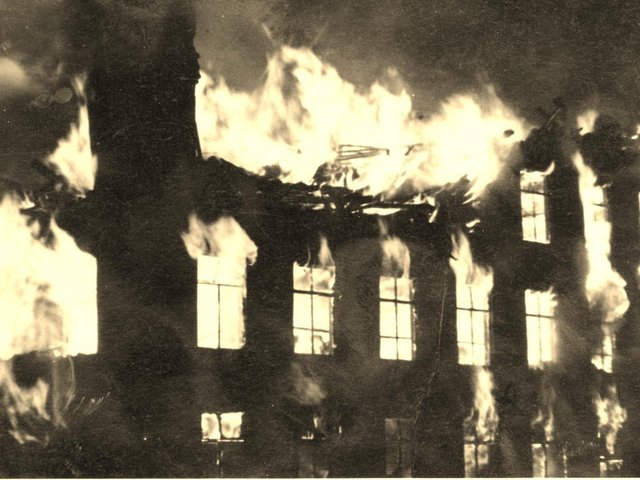 Blazing cotton mills were all too common