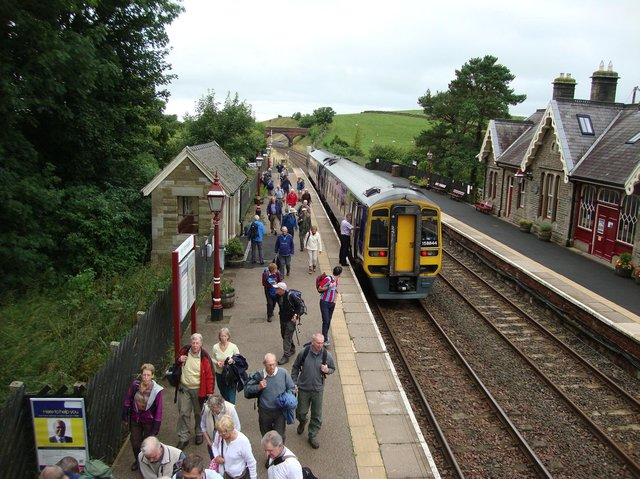 Lancashire DalesRail service between Blackpool North and Carlisle