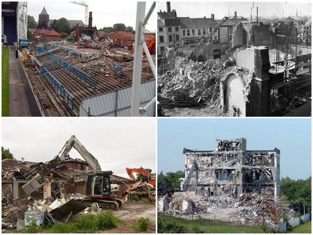 What are your memories of these buildings in and around Preston?