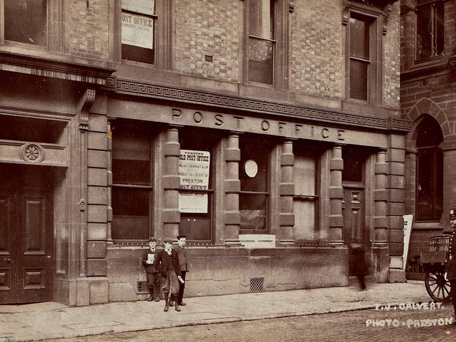 The Post Office operated from Fishergate in 1870