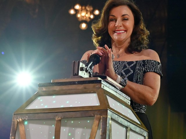 Strictly judge Shirley Ballas at The Illuminations Switch-On