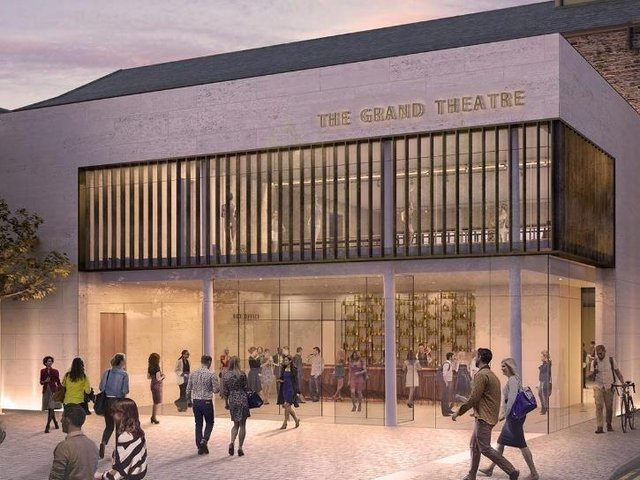 Lancaster Grand Theatre are holding a 'Grand' auction to raise much needed funds to build their New Foyer (artist's impression here).