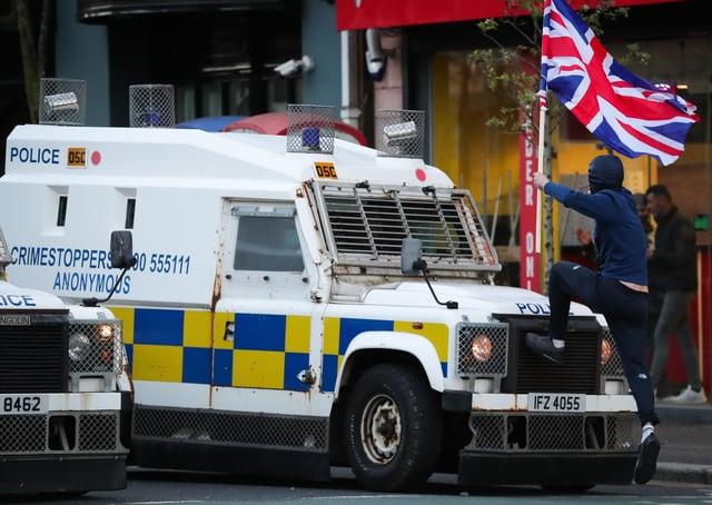 Violence erupts in Belfast after week of disturbances in Derry | Derry Journal