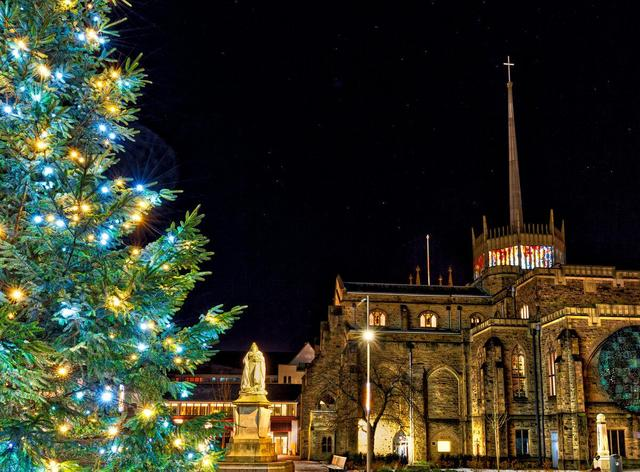 Illuminations return for a second outing post Lockdown as resort gets ready for Christmas ...