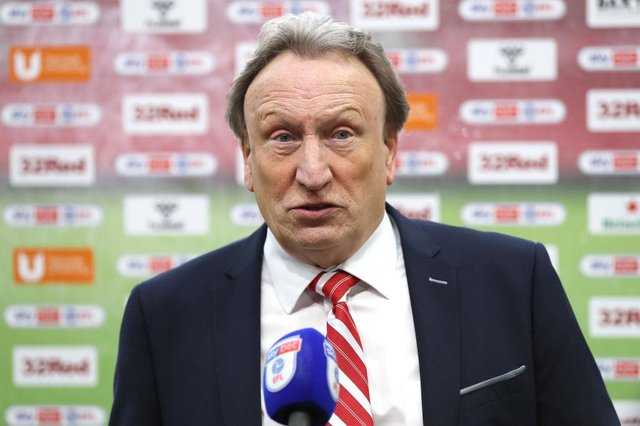 Neil Warnock, Manager of Middlesbrough. (Photo by George Wood/Getty Images)