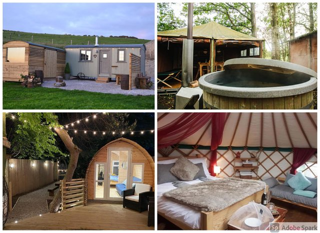 From yurts to wooden pods, there are a number of options for glamping in Lancashire.